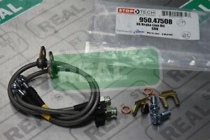 Stoptech SS Rear Brake Lines For 08-17 WRX STi 13-18 Subaru BRZ 13-16 Scion FR-S