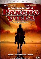 Pancho Villa (DVD, 2005, Cinema Deluxe Series), New, Thin Case, Telly Savalas