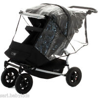 Covering rain Pushchair double Mountain Buggy Duet 2.5