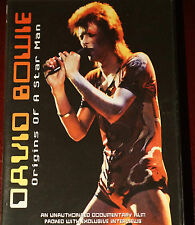 David Bowie Origins of a Starman Region 0 DVD 65 MINS Near Mint Cond