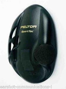 3M Peltor Sporttac Earshell Black 210100-478-SV Per Pair Free UK Shipping
