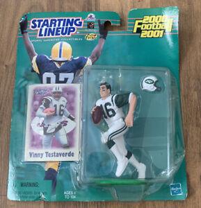 Vinny Testaverde New York Jets NFL Starting Lineup 2000-2001 Figure & Card | New