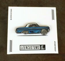Leen Customs Low Rider Chevy Impala / Limited Edition Pin  #402/500