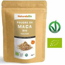 Maca Bio Poudre 1Kg Organic extrait Racine de Maca 100% Bio Naturale Bio