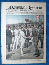 La Domenica del Corriere 12 settembre 1920 Nedo Nadi - Varsavia - Sobieski