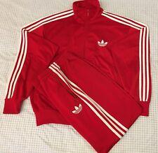 Adidas Originals ADI-Firebird Tracksuit Red White Size XL