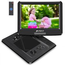 "13"" Zoll Tragbarer Portabler DVD Player Full HD Fernseher USB CD AKKU HDMI MP4"