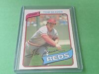 1980 Topps #500 Tom Seaver~NM~Cincinnati Reds HOF Set Break