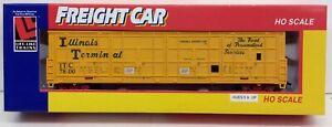 Life Like 8456 60' Thrall Door Box Car Illinois Terminal Ho Scale