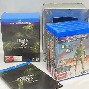 Breaking Bad Blu-Ray - The Complete Series - Limited Steel Box Edition