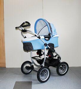 TCM Kinderwagen Babywanne Lenkachse