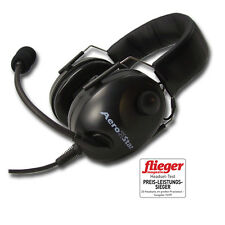 Aero-Star comfort schwarz Piloten Headset Aviation Headset