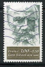TIMBRE FRANCE OBLITERE N° 1989 LEON TOSTOI / Photo non contractuelle