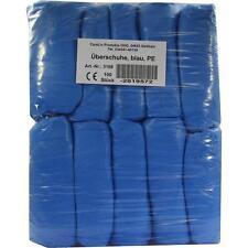 ueberschuhe solo uso plástico azul 100 unidades pzn2819572