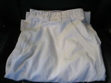 """SIZE 34"""" SOLID IVORY COTTON QUIKSILVER EDITION 6 POCKET CASUAL CARGO SHORTS"""