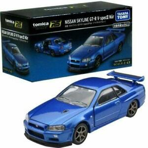TAKARA TOMY Tomica Premium RS Nissan Skyline GT-R V.spec II Nur Scale 1:43 Car -