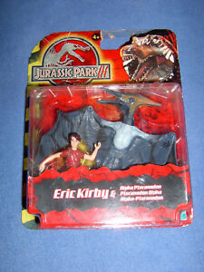 Jurassic Park III - Eric Kirby With Alpha Pteranodon New IN Original Packaging