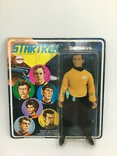 VINTAGE 1974 STAR TREK MEGO CAPTAIN   KIRK 8 INCH FIGURE unpunched MUST SEE