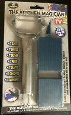 The Kitchen Magician - Multi Function Peeler - Seen on TV - Slice, Peel, Zoodle