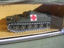BLINDE CHAR AMX 13 TRANSPORT MILITAIRE CROIX ROUGE REF 6244 SOLIDO 1/50