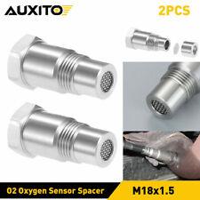 M18x15 Fix Check Engine Light Oxygen 02 Sensor Spacer Bung Catalytic Converter Fits 2002 Mitsubishi Eclipse