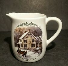 Currier And Ives 2000 Museum Of The City Of New York Creamer Winter