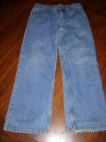 FADED GLORY SIZE 8 BOY'S Regular BLUE Denim Jeans Pants Size 8 Zipper
