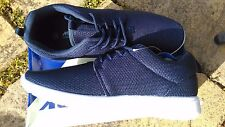 Navy MERCURY Super Light Weight lace up gym sports trainers shoes size UK 9