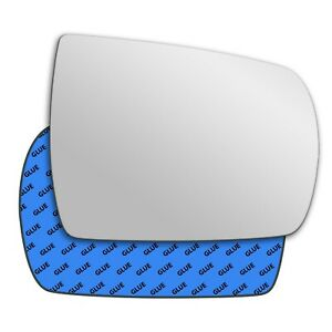 Right wing adhesive mirror glass for Kia Sorento 2011-2015 398RS