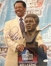 CHARLIE SANDERS HOF 07 Signed Autograph 11x14 Photo Detroit Lions JSA Witnessed