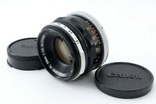 Canon FL 50mm f/1.8 MF Standard Lens【Excellent+】E0190 From Japan!