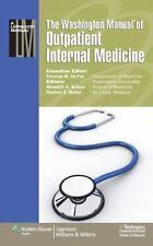 The Washington Manual® of Outpatient Internal Medicine Washington University Sc