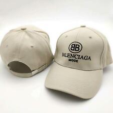 New hot sale Balenciaga² cotton fashion all-match BB beige baseball cap