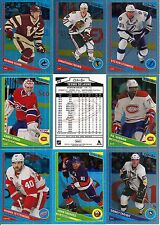 2013-14 OPC O-Pee-Chee Rainbow Foil Boston Bruins Master Team Set (21)