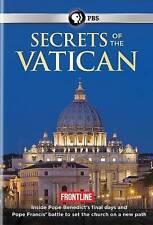 PBS Frontline: Secrets of the Vatican (DVD, 2014) OOP EXCELLENT
