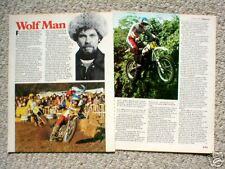 HEIKKI<WOLFMAN> MIKKOLA MOTORCYCLE Racing Article/Photo