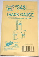 Kadee HO scale # 343 Track Gauge for code 83 / 100 rail