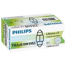 Philips 38192428 Long Life Ecovision Festoon Bulb 269 12V 10W 30mm SV8.5-8