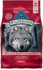 Blue Buffalo Wilderness Grain Free High Protein Salmon Recipe Dry Dog Food