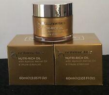 NUTRIMETICS NUTRI-RICH OIL 2 X 60ML (RRP $132) Brand New In Box Save $54