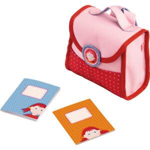 Puppenkleidung Spielset Erste Schulsachen Schulranzen Schulrucksack HABA  2144