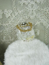 White pearl  Bag for  Barbie,Fashion Royalty,Poppy Parker and similar