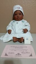 """1999 Lee Middleton - African American """"Soft and Innocent"""" 18"""" by Reva Schick"""