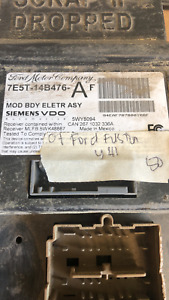 2007 Ford Fusion smart junction box 7E5T-14B476-AF