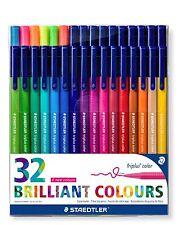 Staedtler triplus ® couleur fibre-Tip/32 couleurs vives/1.0mm/triangulaire/nouvelle col