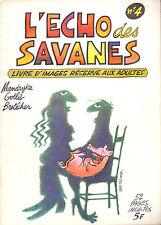 REVUE L'ECHO DES SAVANES N°4 JUILLET 1973