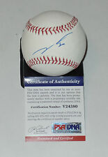 JOSE FERNANDEZ AUTO'D SIGNED MLB BASEBALL PSA/DNA COA V24380 MIAMI MARLINS CUBA