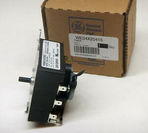 WE04X20415 GE General Electric Dryer Control Timer OEM PS9491767 AP5805477