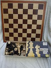 Super Chess Board & Full Set Wooden Chessmen