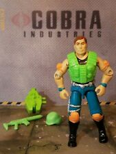 GI JOE ~ 1990 RAPID FIRE ~ EXCELLENT with UNCRACKED ELBOWS ~ 110% complete
